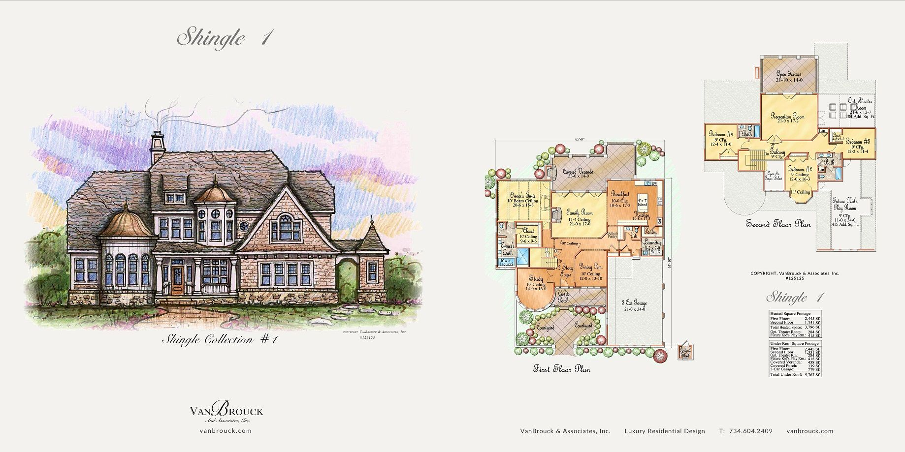 16 period style homes. A collection of Tudor, French, Shingle-style ...