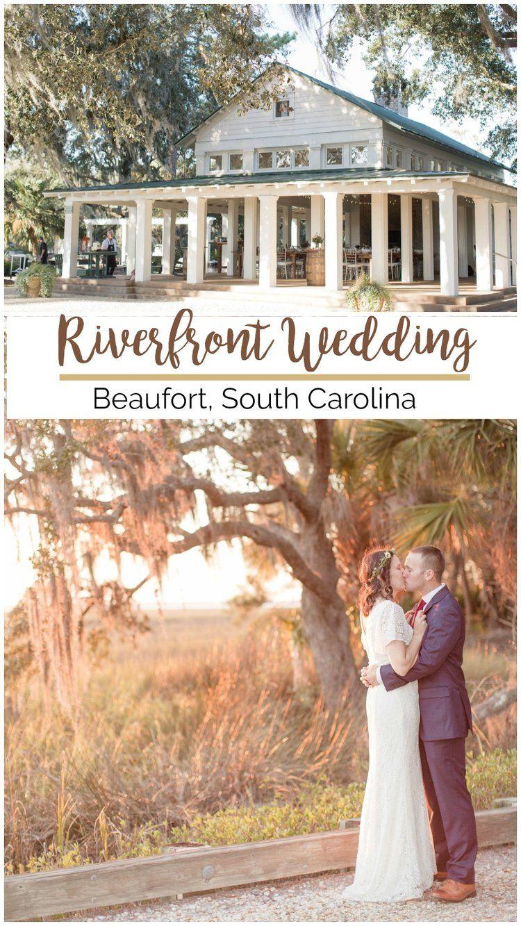 Kristen Jonathan Beautiful Beaufort Wedding On The River Palmetto State Weddings Wedding Venues North Carolina Southern Wedding Venues Wedding Venues Beach