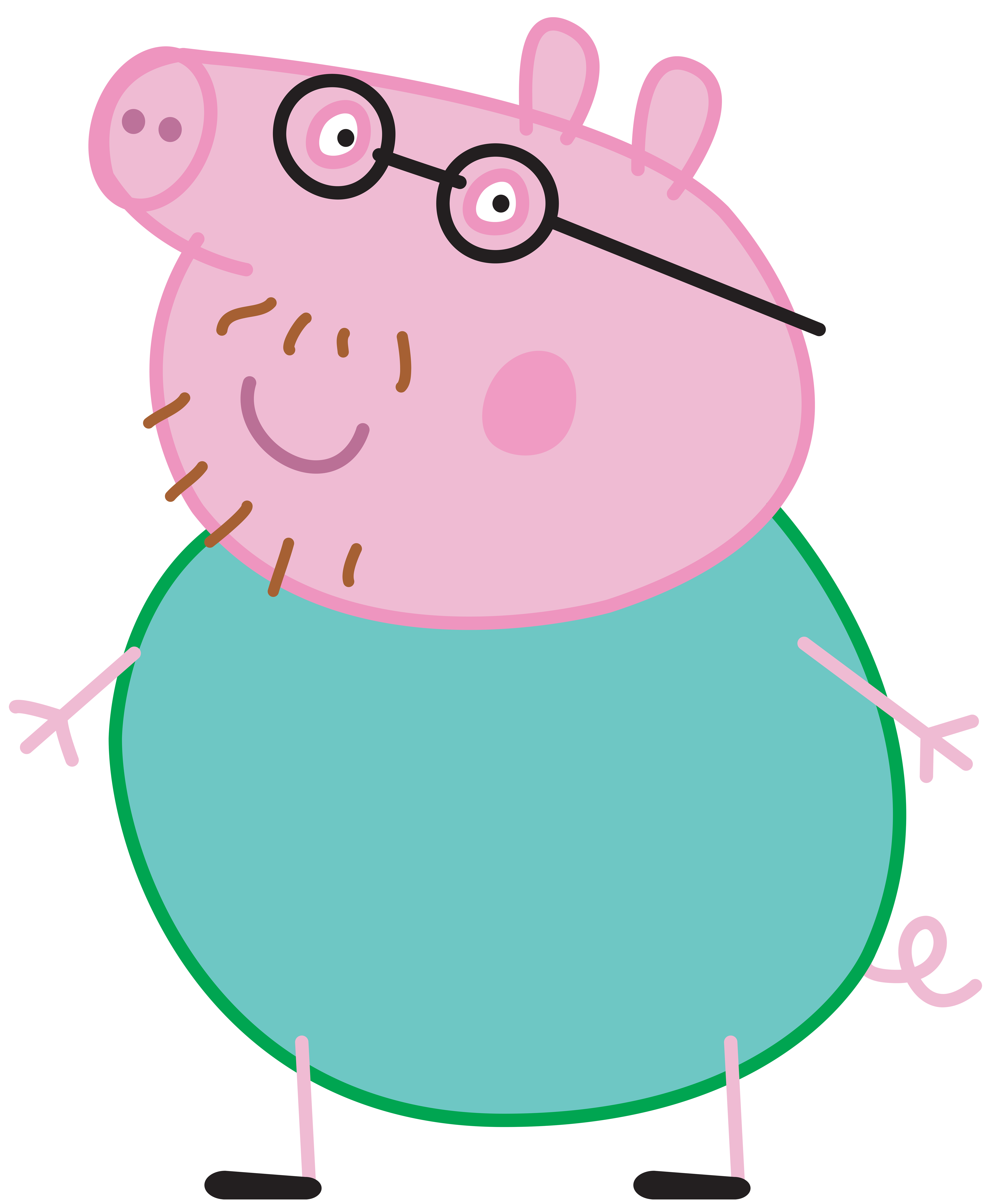 Pin By Georggi Xu On Pic Peppa Pig Peppa Pig Daddy Pig Pig Images