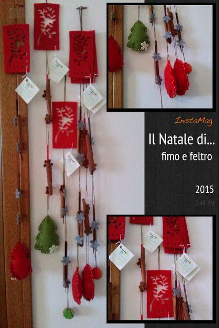Fimo e Feltro...l'arte tra le mani: Decorazione natalizia