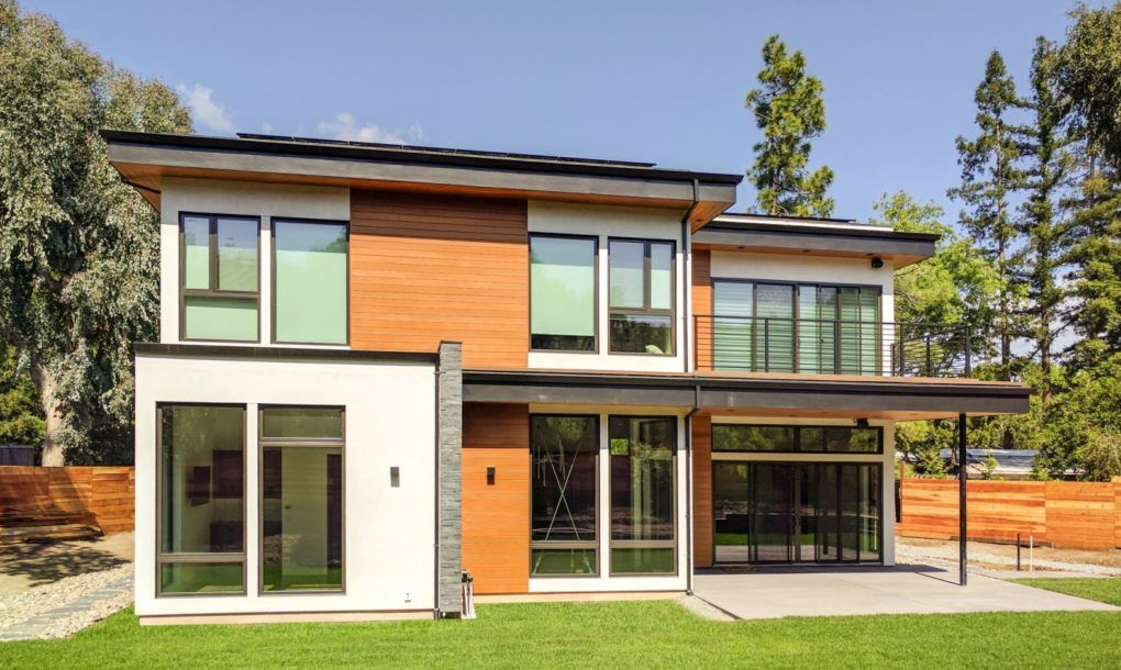 icf home designs%0A Leading Stanford climate scientist builds incredible net zero home   complete with Tesla Powerwall