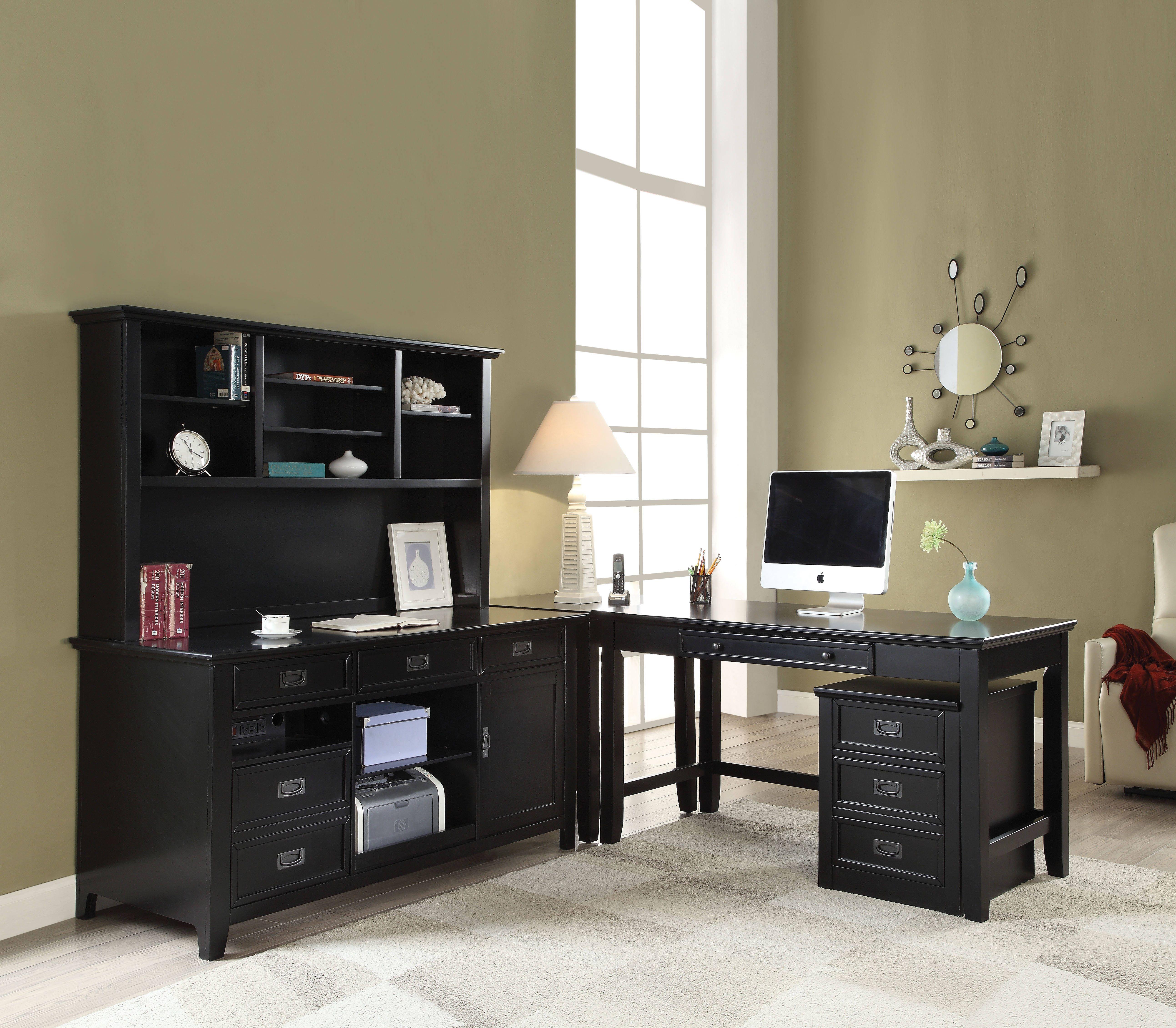 Acme Furniture Pandora Black File Cabinet Black Office Furniture