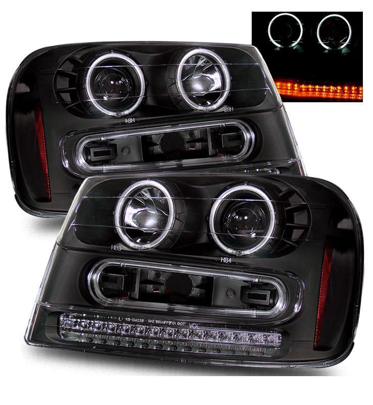 2002 2007 Chevy Trail Blazer Dual Ccfl Led Signal Projector