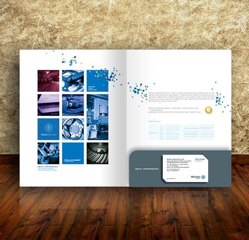35 Creative Presentation Folder Designs for Identity Branding - resume folders