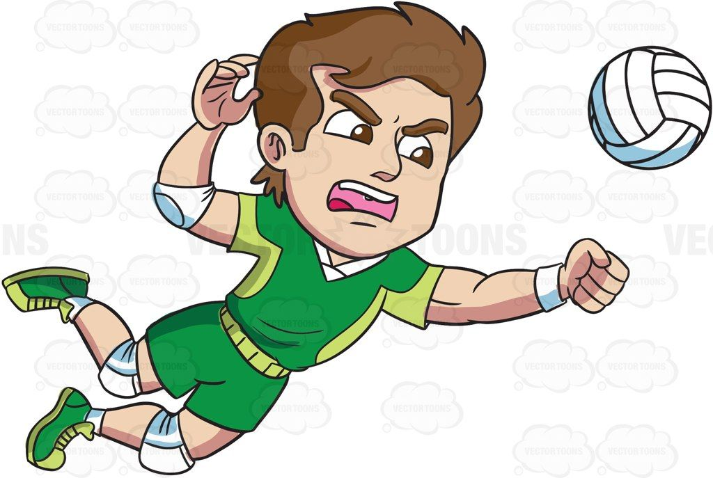 Volleyball Cartoon Picture