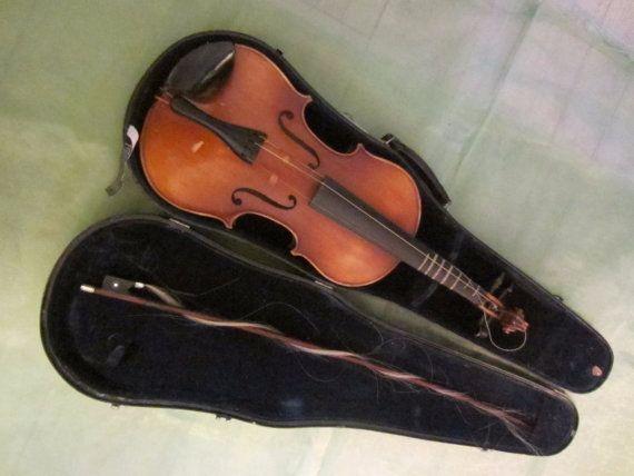 anton becker copie antonius stradivarius by designeruniquefinds etsy vintage vogue violin. Black Bedroom Furniture Sets. Home Design Ideas