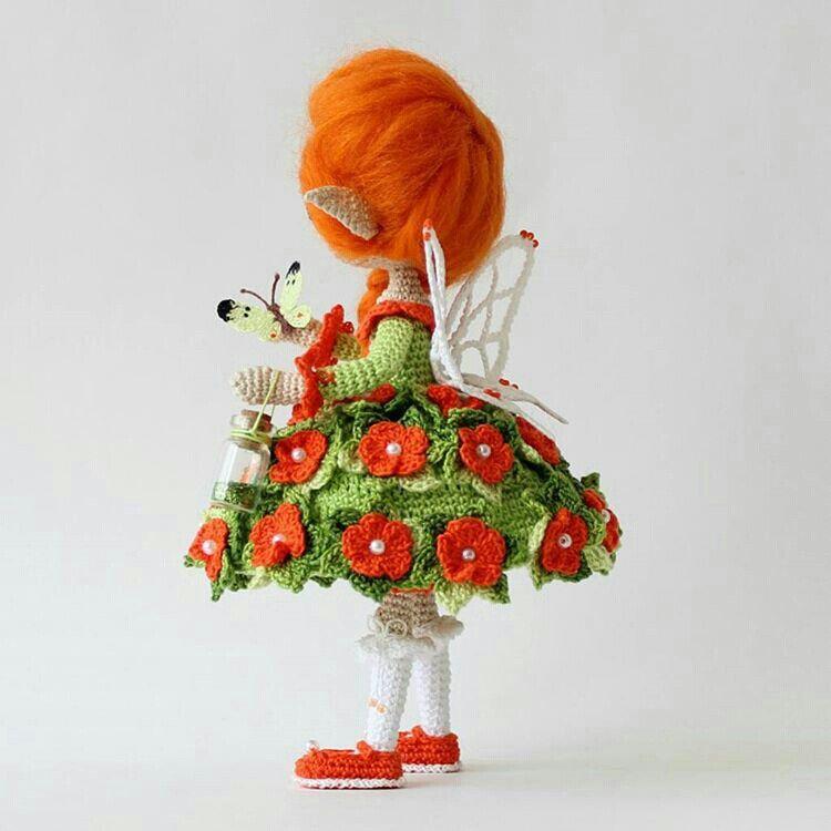 Pin de Елена Соколова en куклы   Pinterest   Patrones amigurumi ...