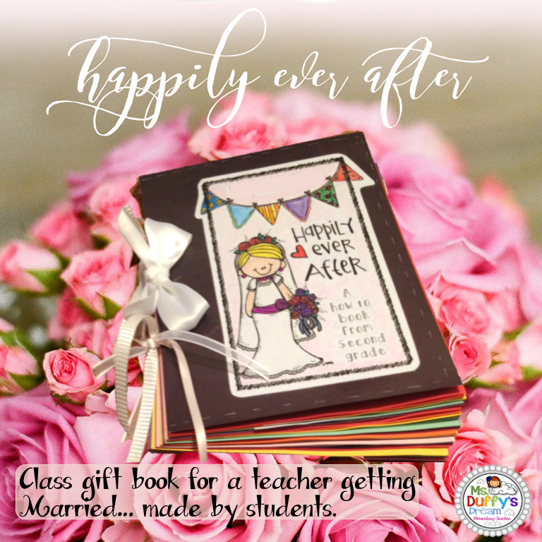 233ba2cb99 Know a teacher that is getting married   This is the perfect gift book for  the class to make. It can be made for the bride to be or for a groom to ...