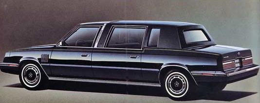 1984 Chrysler Executive Limousine Autos Coches