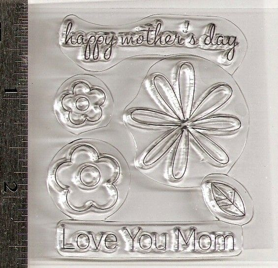 Happy Mother 39 S Day Studio G Clear Acrylic Stamps Series 30 Clear Acrylic Stamps Happy Mothers Stamp Blocks