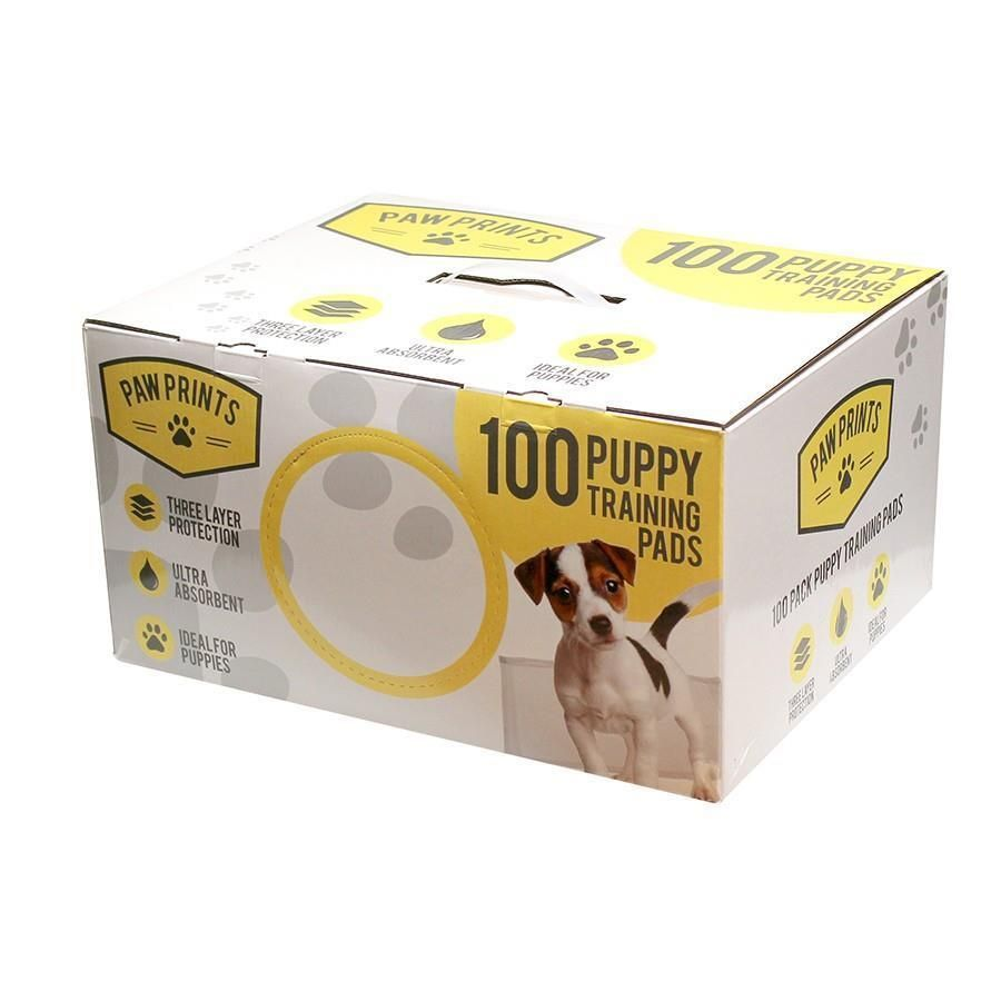 100 Piece Puppy Training Pads Pack Quality Dog Large Absorbent Pad