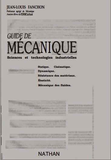 Guide De Mecanique Cours Et Excercices Cours D Electromecanique Technology Genies Books
