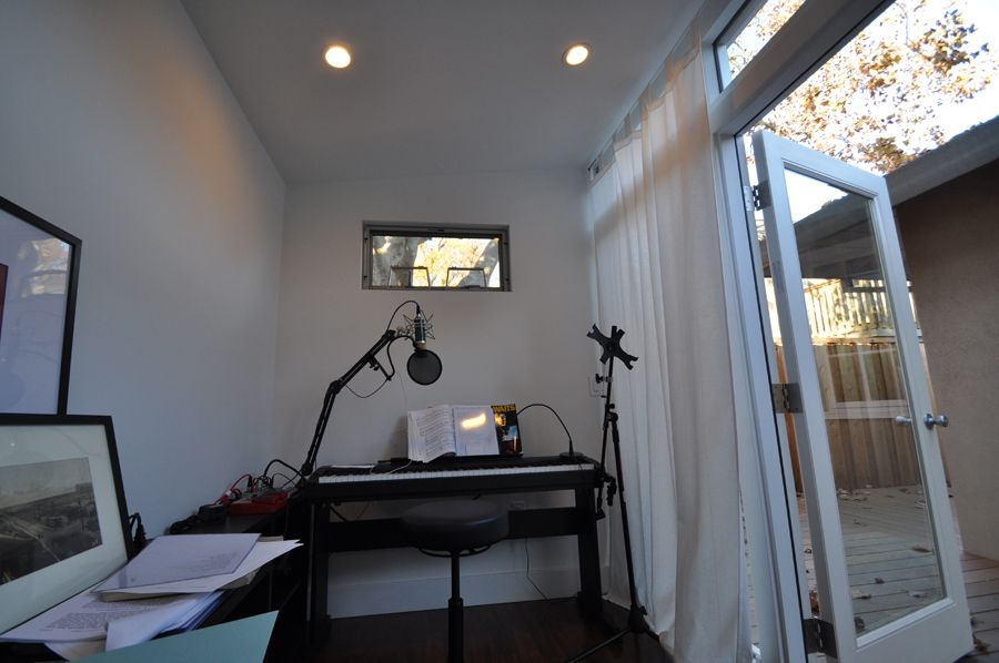 Home Music Studios Build A Prefab Backyard Recording Studio Home Studio Music Studio Shed Trendy Home