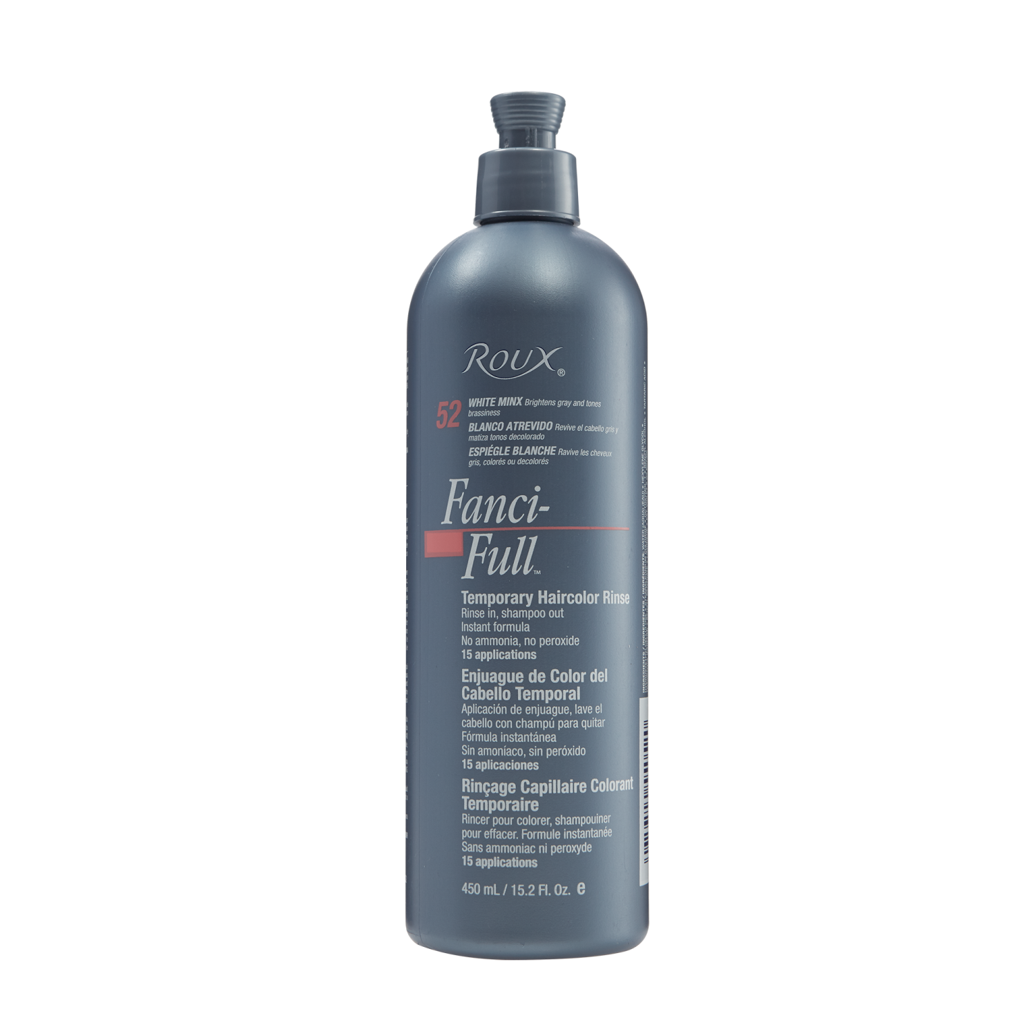 Roux Fanci Full Temporary Color Rinse Is Ready To Use And Requires No Activator Peroxide Mixing