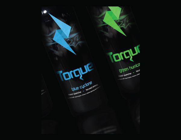 Torque Sports Energy Drink Brand By Ryan Marcey Via Behance Drinks Drinks Brands Sports Drink