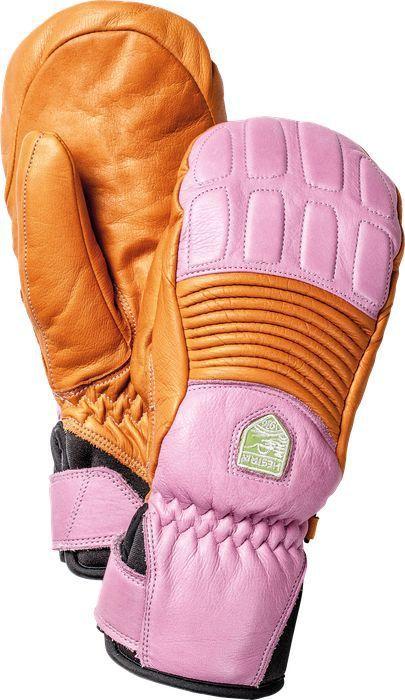 5752964de7c Hestra Women's Leather Fall Line Mitt - Orange/Cerise | Snow ...