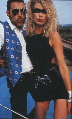 Freddie Mercury And Rogers Girlfriend Deborah Leng