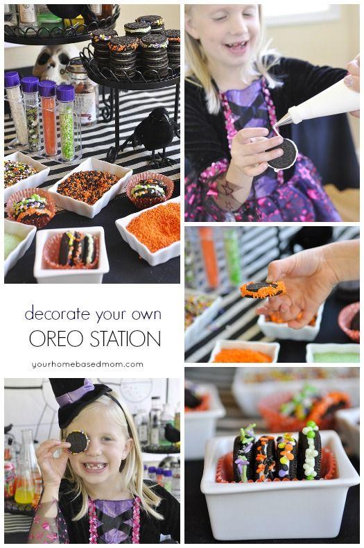 Halloween Party Idea - Mad Scientist Soda Laboratory Halloween