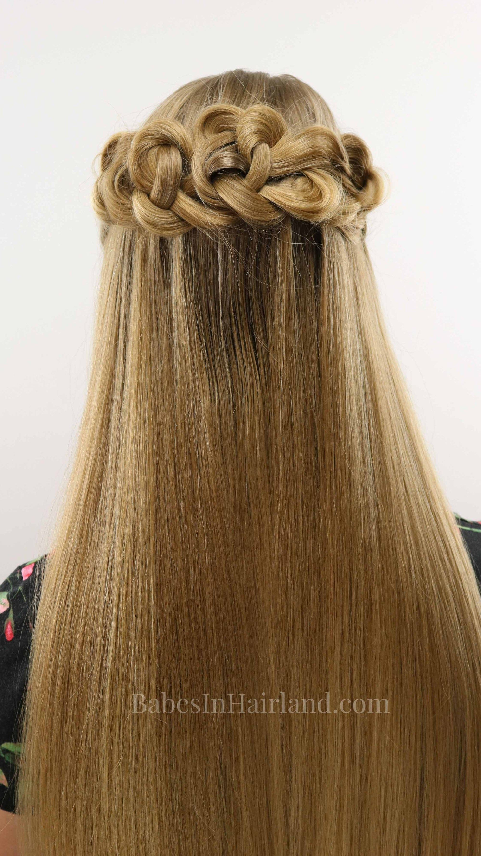 Halfup daisy chains hairstyle hair of instagram pinterest