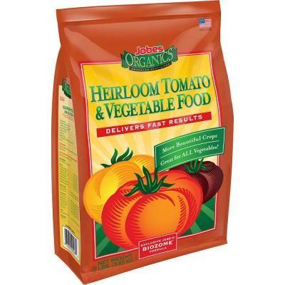 Jobe S Organics 8 Lb Organic Heirloom Tomato And Vegetable Plant
