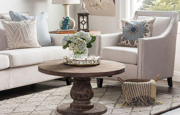 Beautiful Shabby Chic Furniture & Decor Ideas | Mesitas auxiliares y ...