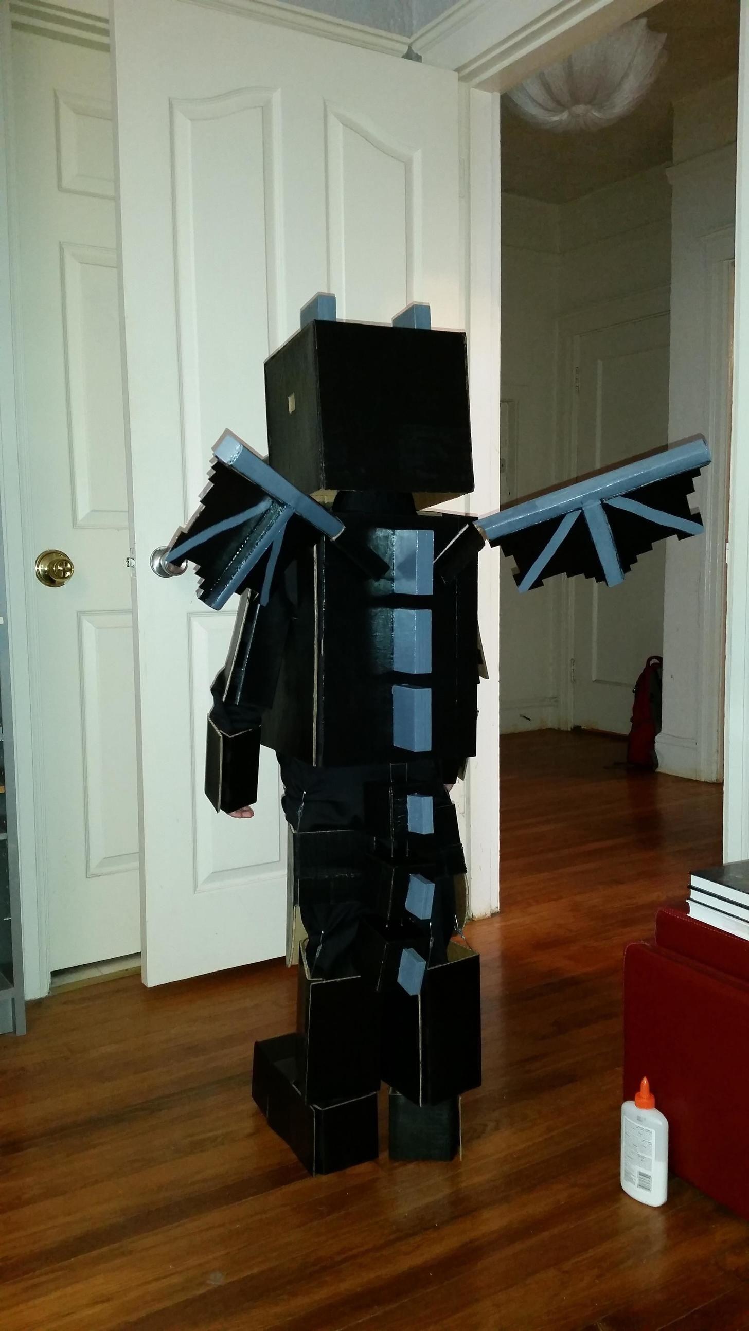 Minecraft Halloween 2020 Minecraft Ender Dragon   post | Minecraft halloween costume