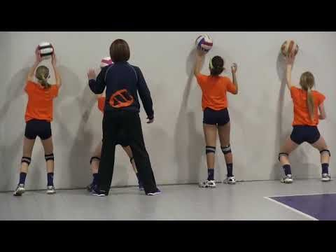 Audrey Flaugh Setting School Youtube Coaching Volleyball Volleyball Drills Kids Volleyball