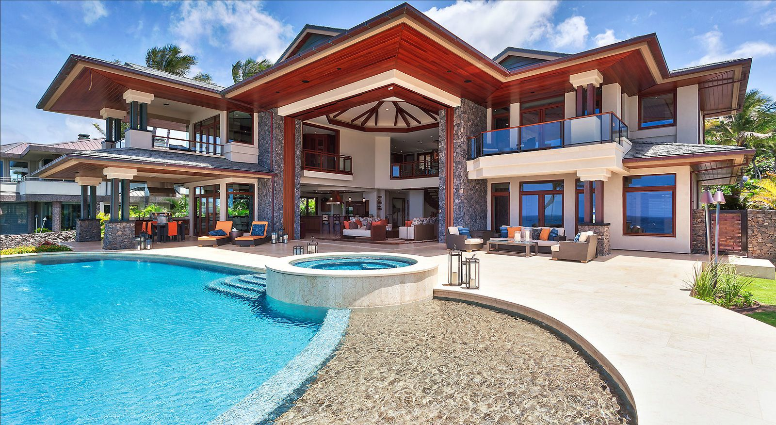 Nice houses on the beach - Beach Houses Kapalua Place Maui Beach House 49 Pics The Jet Life
