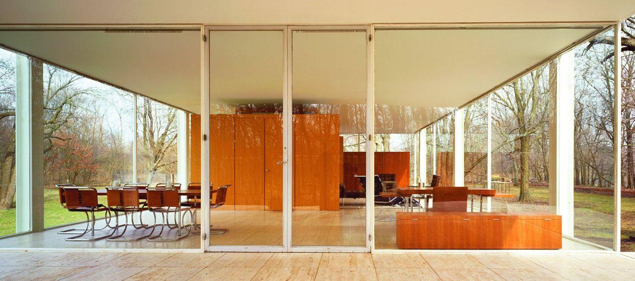 Casa farnsworth interior buscar con google - Casa farnsworth ...