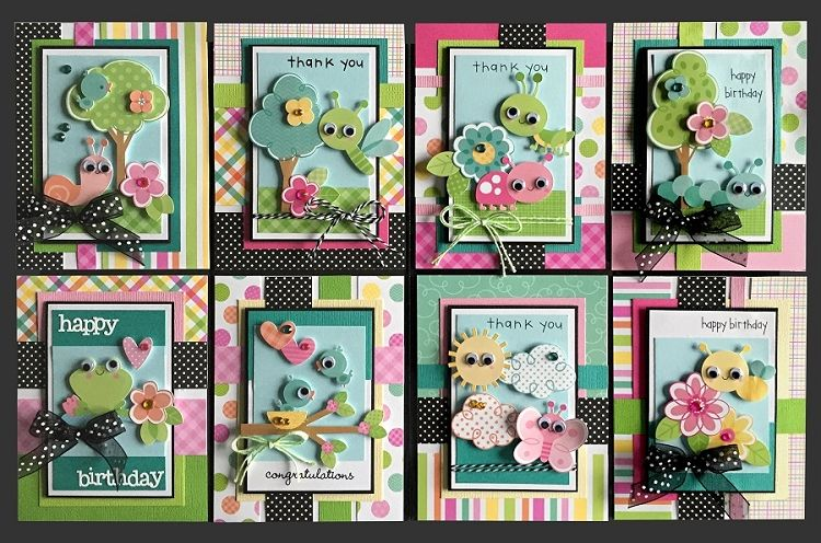 Cute Critters Card Kit Kim 39 S Card Kits Handmade Greeting