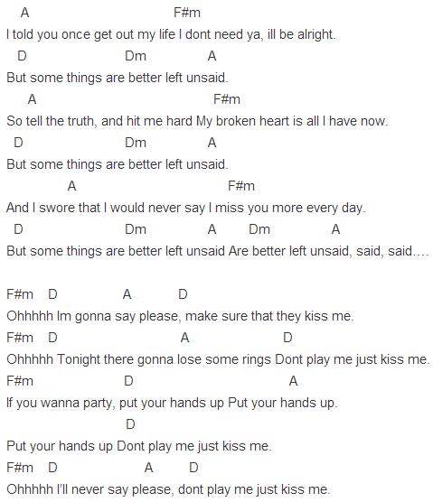 Better left unsaid chords | qυσтєѕ & ℓуяι¢ѕ | Pinterest | Songs