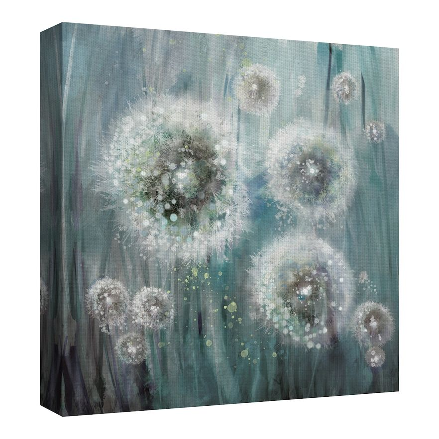 Fine Art Canvas Dandelion Dream By Studio Arts Abstract Canvas Painting Art Canvas Art