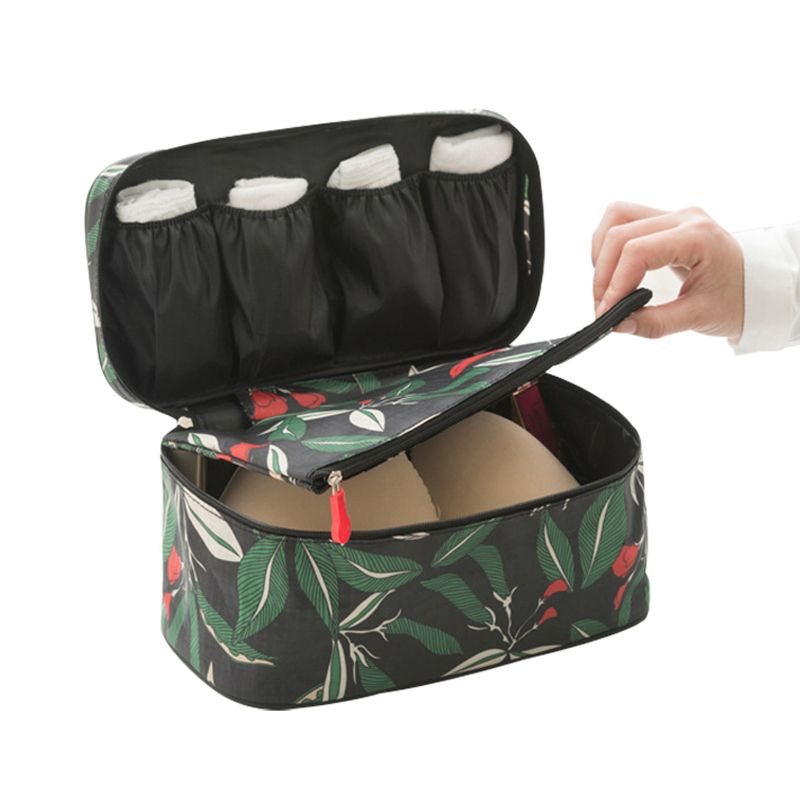 e64a8ada7297 Underwear Storage Box Organizer Sorting Storage Bag For Bra Sock ...