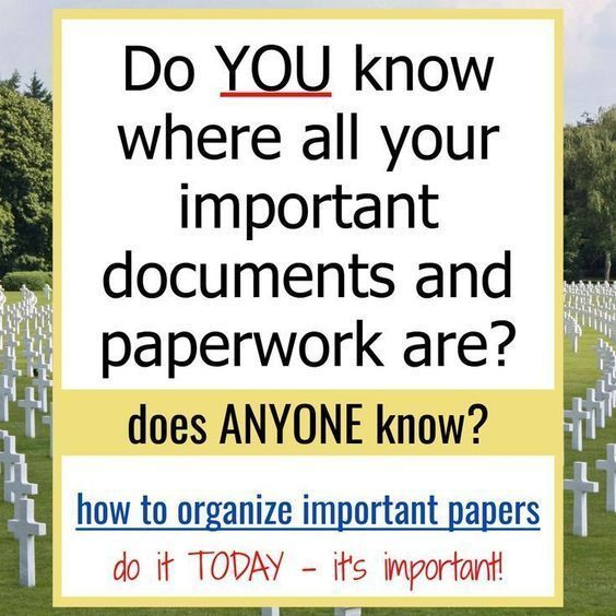 How To Organize Important Documents in an Emergency Binder or Household Notebook #importantdocuments How To Organize Important Documents - Make a Simple In Case Of Emergency Binder with your important documents with these printable worksheets and PDFs #importantdocuments How To Organize Important Documents in an Emergency Binder or Household Notebook #importantdocuments How To Organize Important Documents - Make a Simple In Case Of Emergency Binder with your important documents with these printa #importantdocuments