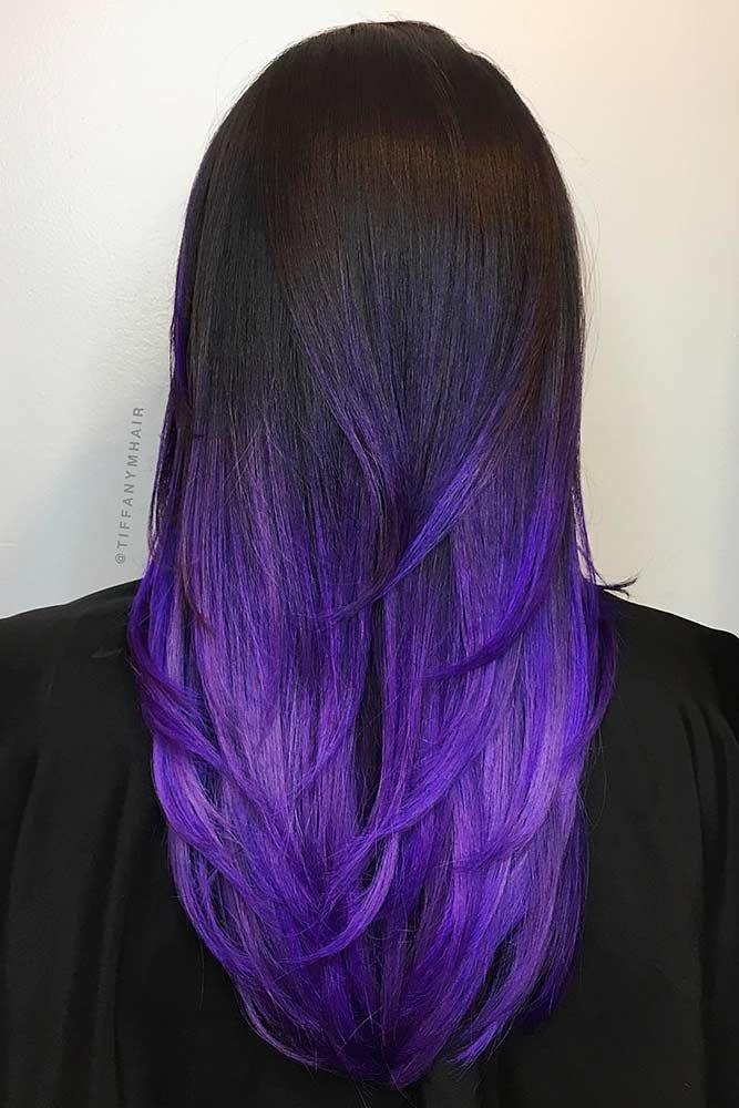 dark ombre hair ideas