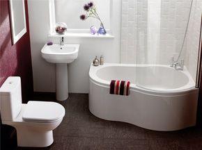 Alder Showerbath Suite  Bathrooms  Pinterest  Shower Cubicles Magnificent Corner Baths For Small Bathrooms Decorating Inspiration