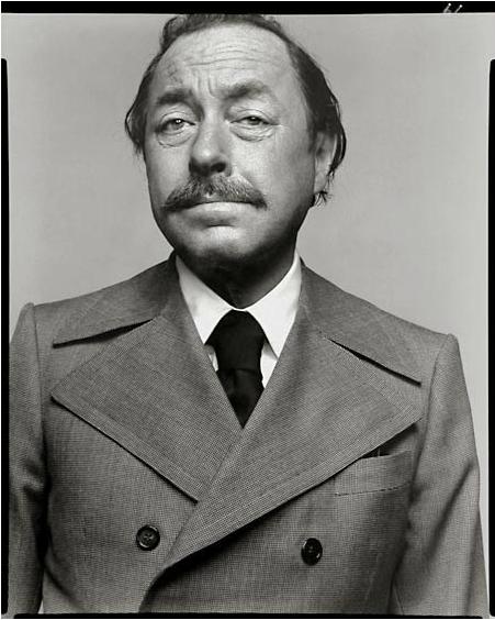 Richard Avedon. Tennessee Williams, New York City, 1969