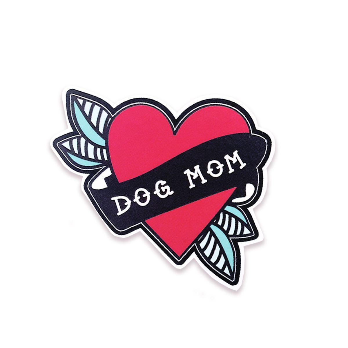 Dog Mom Vinyl Sticker — The Five15 Vinyl sticker, Dog