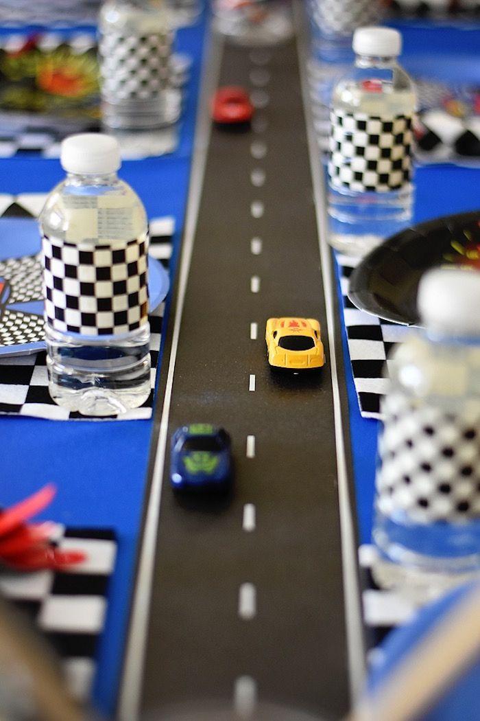 Maverick S Speedy Race Car Birthday Party Car And Race Car Party
