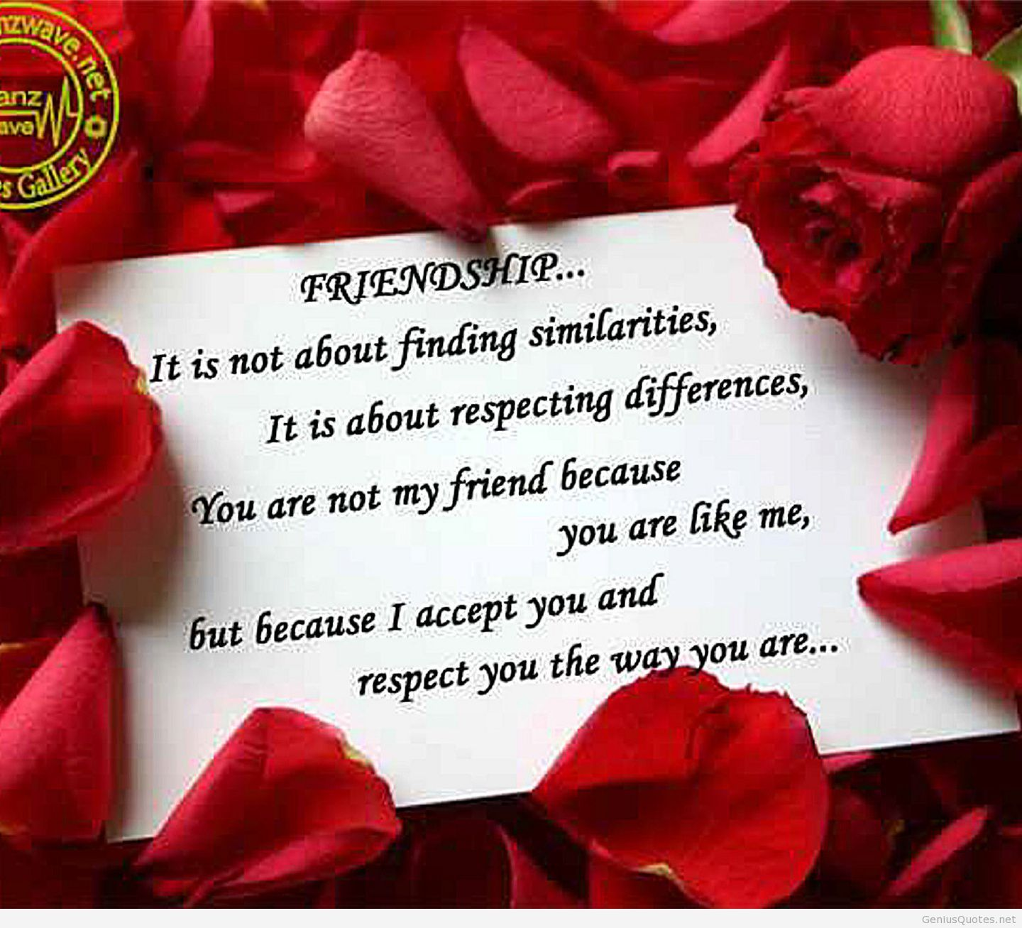 Friendship love quote wallpaper 2014 | Sayings | Pinterest ...