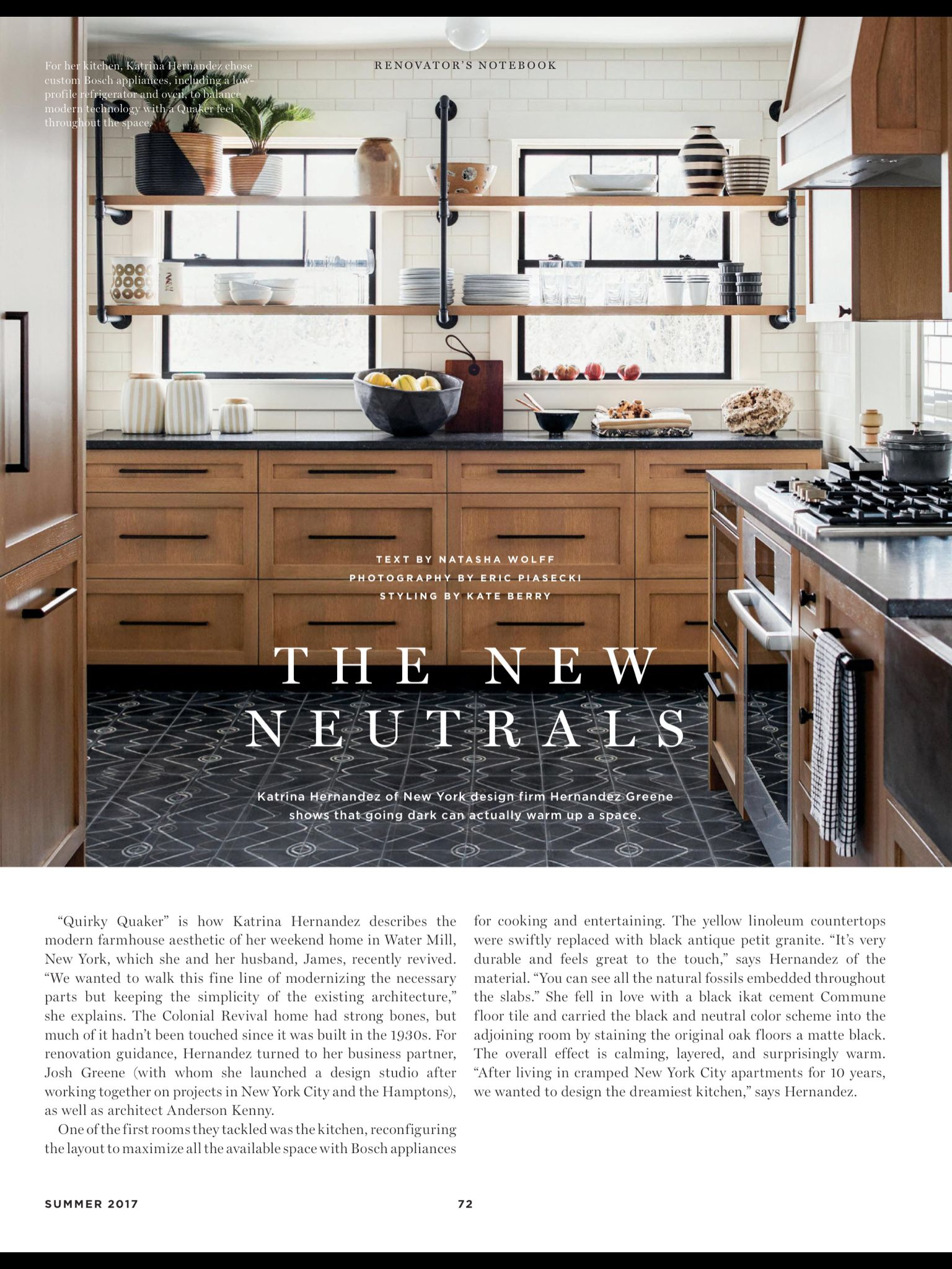 Renovator S Notebook From Domino Summer 2017 Affordable Kitchen Remodeling Kitchen Renovation Kitchen Interior