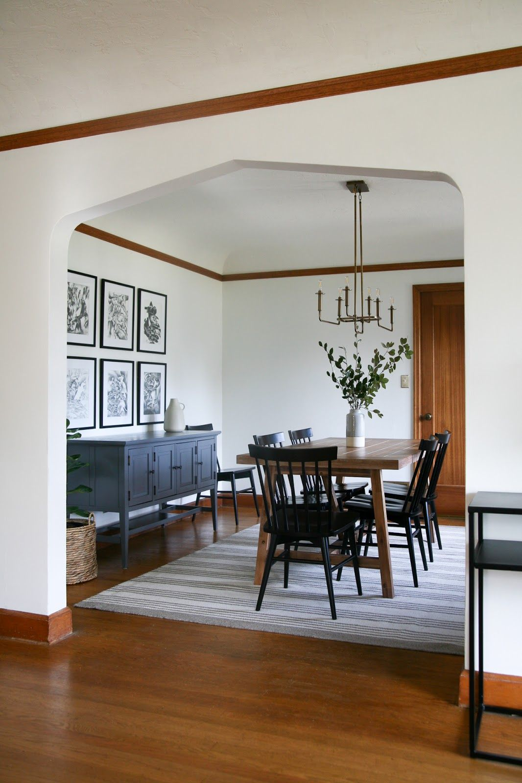 Modern Traditional Dining Room Decor Reveal Farmhouse Dining