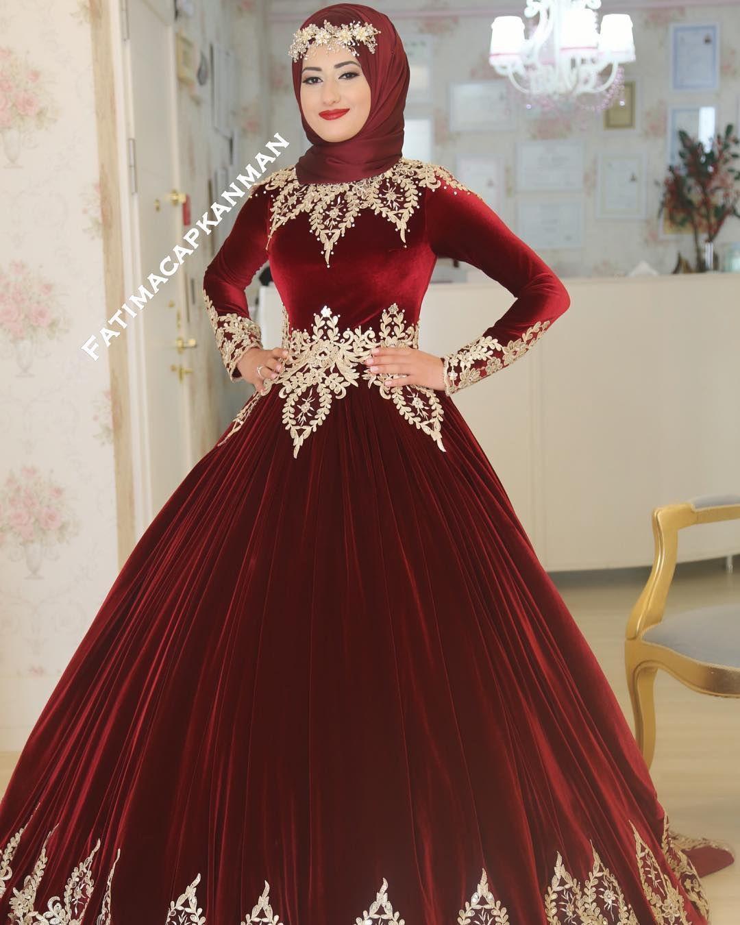 Pin By Beyza Sahin On Dugun Dresses Afghan Clothes Modest Wedding Dresses
