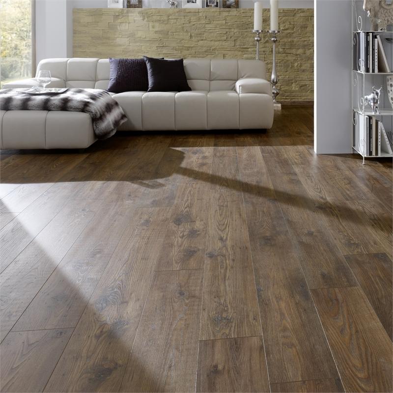 Bakersfield Chestnut Laminate Flooring Homebase