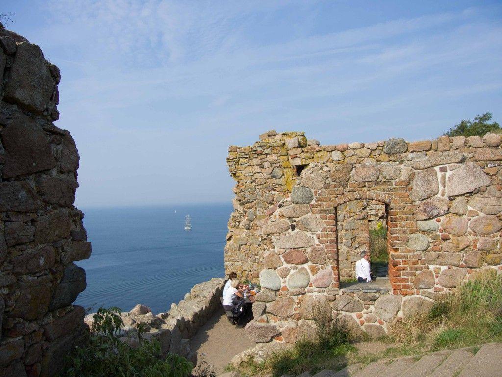 Bornholm explored hammershus castle