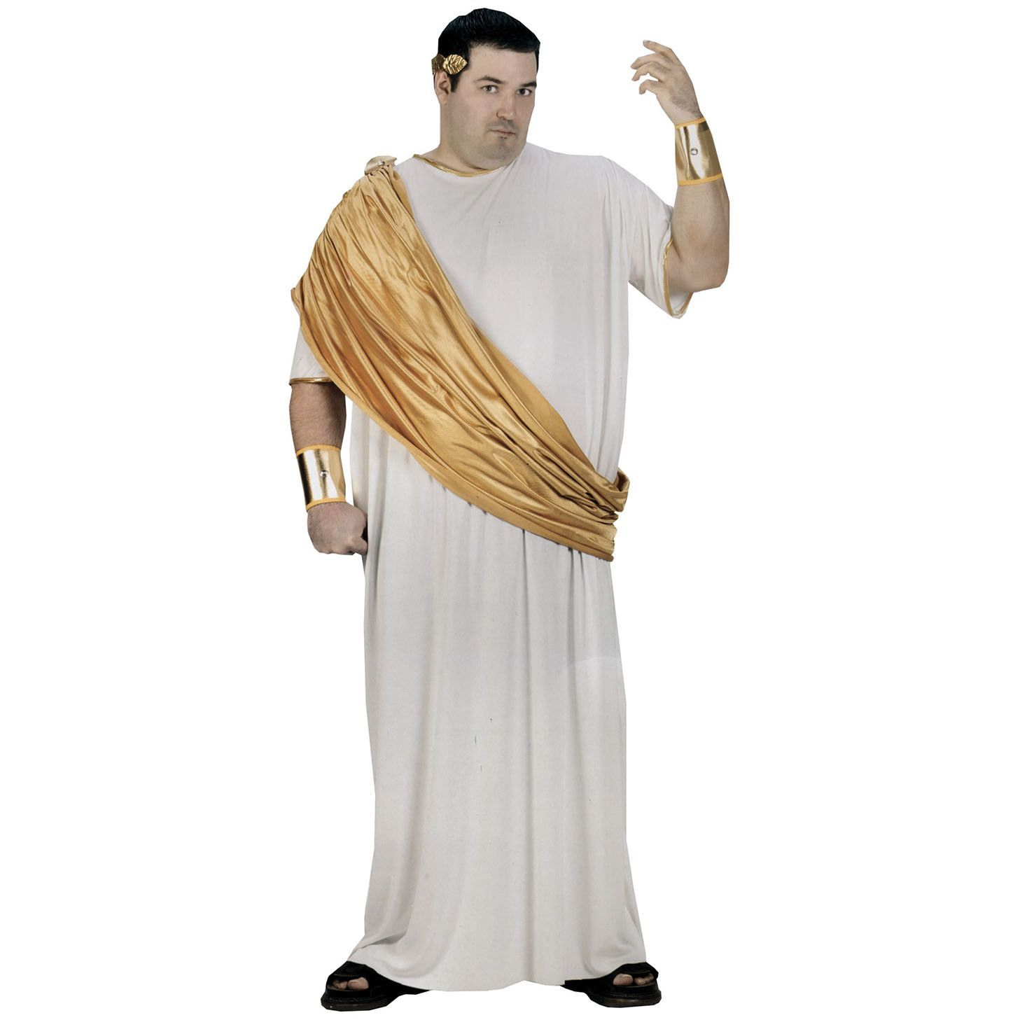 hail caesar they will bow at your greatness in this regal white