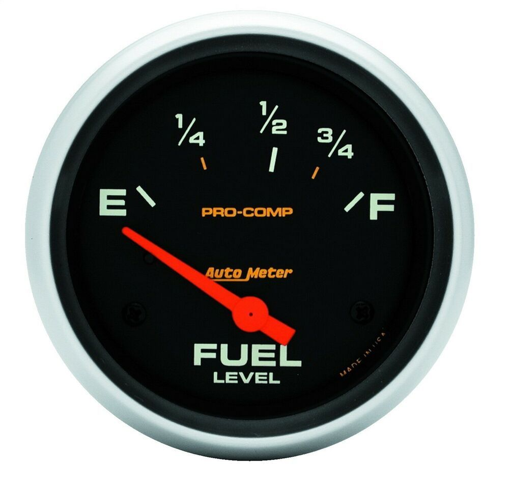 Sponsored Ebay Autometer 5416 Pro Comp Electric Fuel Level Gauge 73 Ohms Emp 8 12 Ohms Full Pro Comp Gauges Ebay
