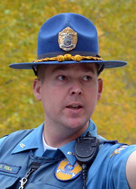 Trooper Tage Brandel Toll State Trooper Police Officer Memorial Military Firefighter