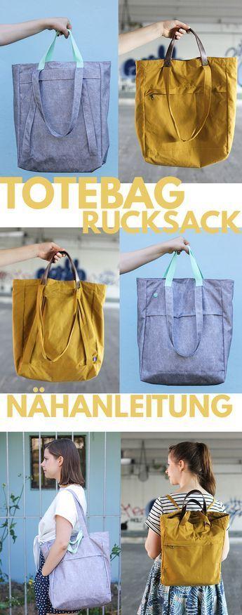 Photo of Totebag Tutorial • Zusatz-Tutorial für Rucksacktasche • Seemannsgarn – handmade