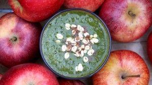 Apple Spice Cake Green Smoothie Recipe by Green Blender #vegan